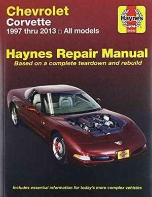 Chevrolet Corvette Automotive Repair Manual de  Haynes Publishing