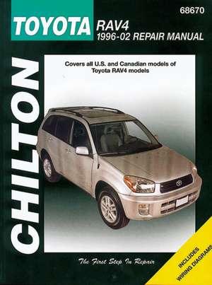 Toyota RAV4 (Chilton) Automotive Repair Manual de  Haynes Publishing