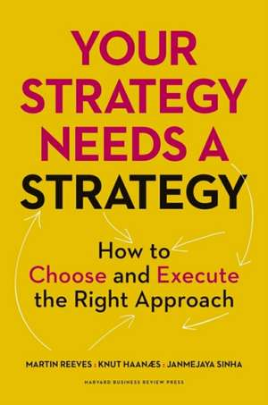 Your Strategy Needs a Strategy