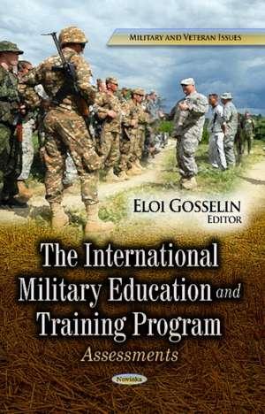 International Military Education and Training Program imagine