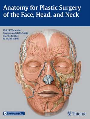 Anatomy for Plastic Surgery of the Face, Head and Neck imagine