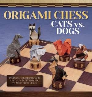 Origami Chess:  Cats vs. Dogs de Roman Diaz