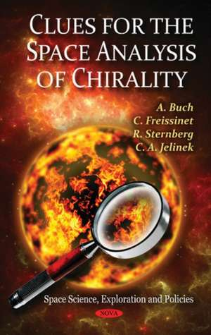 Clues for the Space Analysis of Chirality de A Buch