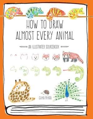 How to Draw Almost Every Animal de Chika Miyata