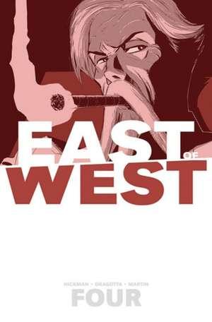 East of West Volume 4: Who Wants War? de Jonathan Hickman