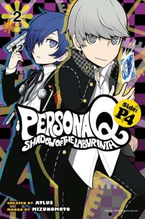 Persona Q: Shadow Of The Labyrinth Side: P4 Volume 2