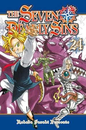 The Seven Deadly Sins 24 de Nakaba Suzuki