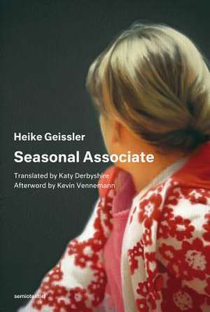 Seasonal Associate de Heike Geissler