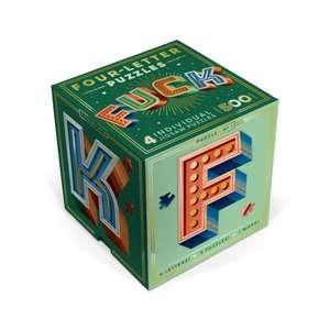 Knock Knock F*ck Four-Letter Puzzle