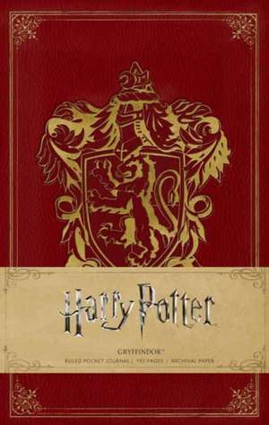 Harry Potter, Gryffindor Hardcover Ruled Notebook de INSIGHT EDITIONS