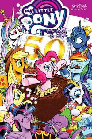 My Little Pony Omnibus Volume 4 de Christina Rice