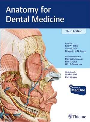 Anatomy for Dental Medicine, English Nomenclature imagine