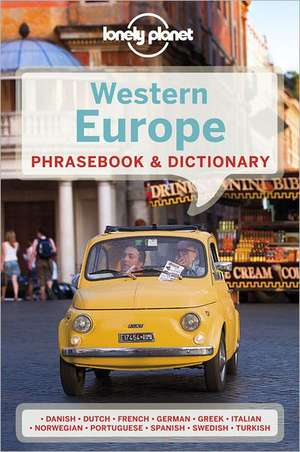 Lonely Planet Western Europe Phrasebook & Dictionary de  Lonely Planet