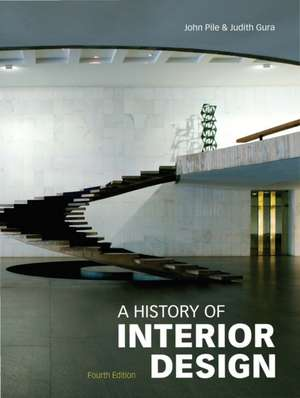 A History of Interior Design de John Pile
