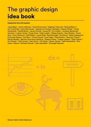 The Graphic Design Idea Book de Steven Heller