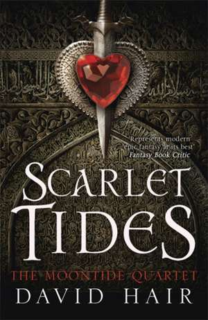 Scarlet Tides de David Hair