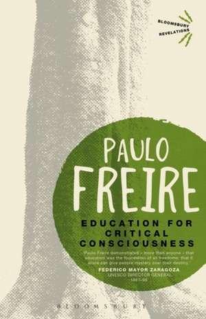 Education for Critical Consciousness de Paulo Freire