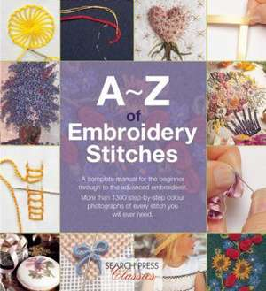 A-Z of Embroidery Stitches de Country Bumpkin