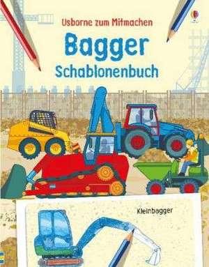 Bagger Schablonenbuch de Louie Stowell