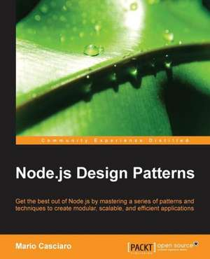Node.Js Design Patterns de Mario Casciaro