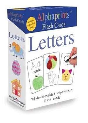 Alphaprints Flash Cards Letters