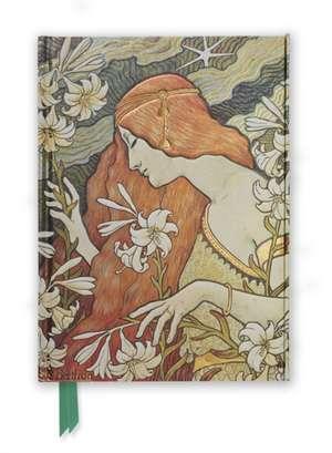 Paul Berthon: L'Ermitage (Foiled Journal) de Flame Tree Studio