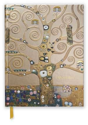 Gustav Klimt: Tree of Life (Blank Sketch Book) de Flame Tree Studio