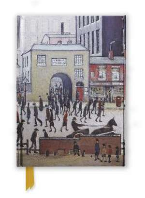 L. S. Lowry: Coming from the Mill (Foiled Journal) de Flame Tree Studio