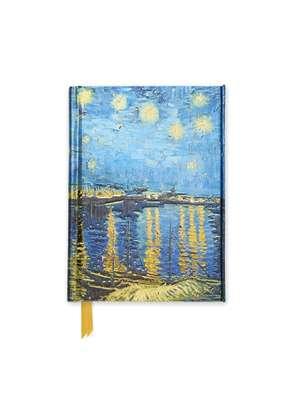 Van Gogh: Starry Night over the Rhone (Foiled Pocket Journal) de Flame Tree Studio