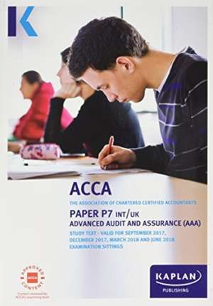 P7 Advanced Audit and Assurance (INT&UK) - Complete Text