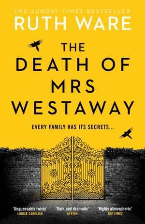 The Death of Mrs Westaway de Ruth Ware