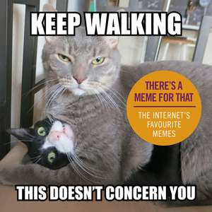 Keep Walking, This Doesn't Concern You