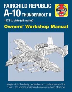 Fairchild Republic A-10 Thunderbolt II de Steve Davies