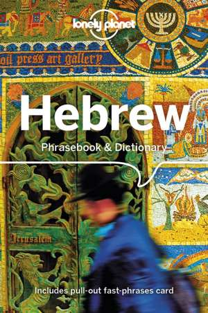 Hebrew Phrasebook & Dictionary imagine