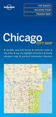 Lonely Planet Chicagocity Map de Lonely Planet