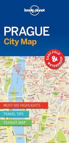 Lonely Planet Praguecity Map de Lonely Planet