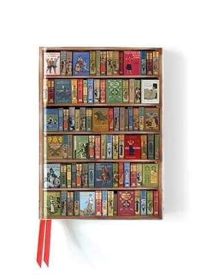 Bodleian Library: High Jinks Bookshelves (Foiled Journal) de Flame Tree Studio