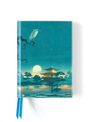 Sam Hadley: Golden Pavilion (Foiled Journal) de Flame Tree Studio