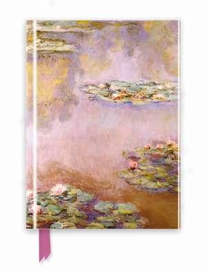Monet: Waterlilies (Foiled Journal) de Flame Tree Studio