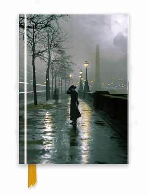 London by Lamplight (Foiled Journal) de Flame Tree Studio