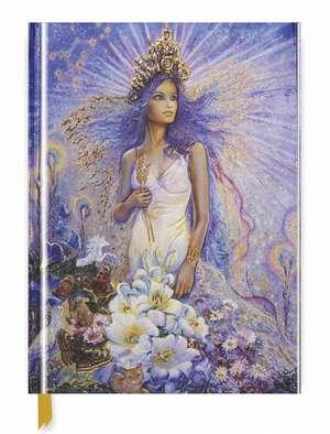 Josephine Wall: Virgo (Blank Sketch Book) de Flame Tree Studio