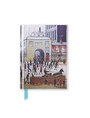 L.S. Lowry: Coming from the Mill (Foiled Pocket Journal) de Flame Tree Studio