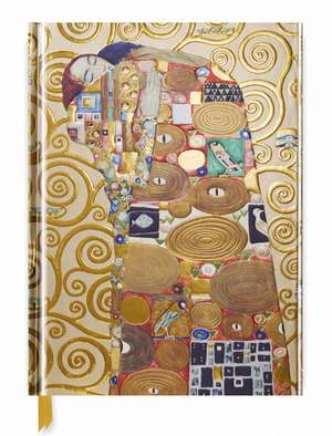 Gustav Klimt: Fulfillment (Blank Sketch Book) de Flame Tree Studio