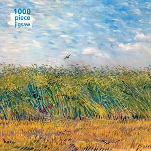 Adult Jigsaw Puzzle Vincent Van Gogh: Wheat Field with a Lark: 1000-piece Jigsaw Puzzles de Flame Tree Studio
