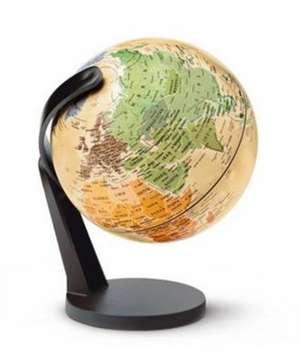 Insight Globe: Small World Antique Globe