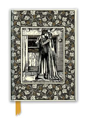 William Morris: The Story of Troilus and Criseyde (Foiled Journal) de Flame Tree Studio