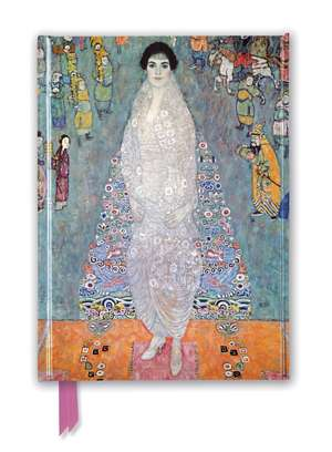Gustav Klimt: Portrait of Baroness Elisabeth Bachofen-Echt (Foiled Journal) de Flame Tree Studio