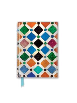 Alhambra Tile (Foiled Pocket Journal) de Flame Tree Studio