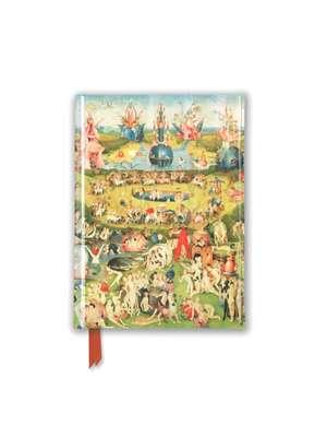 Bosch: The Garden of Earthly Delights (Foiled Pocket Journal) de Flame Tree Studio