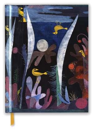 Paul Klee: Landscape with Yellow Birds (Blank Sketch Book) de Flame Tree Studio